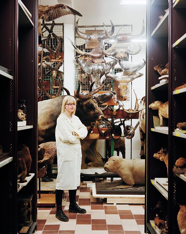 Aurélie Braxenthaler – Muséum Aquarium de Nancy :: portrait