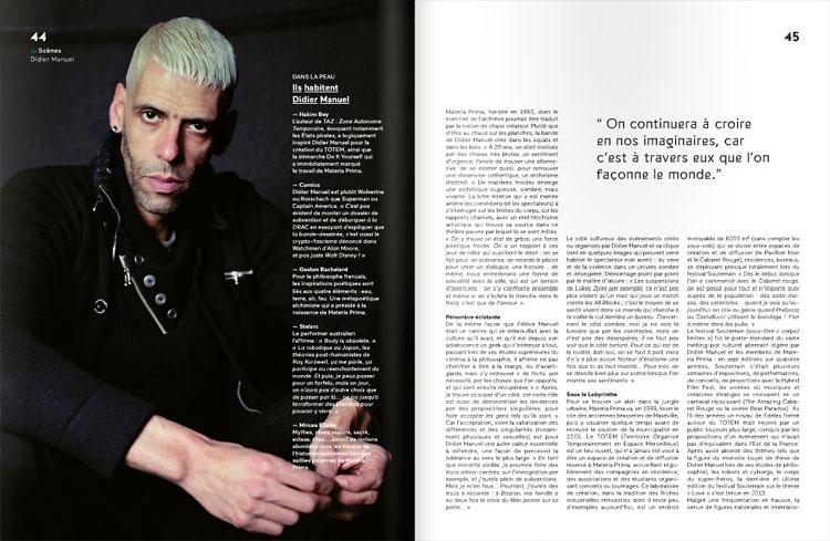 Didier Manuel :: portrait