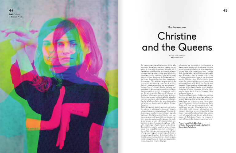 Christine and the Queens :: portrait