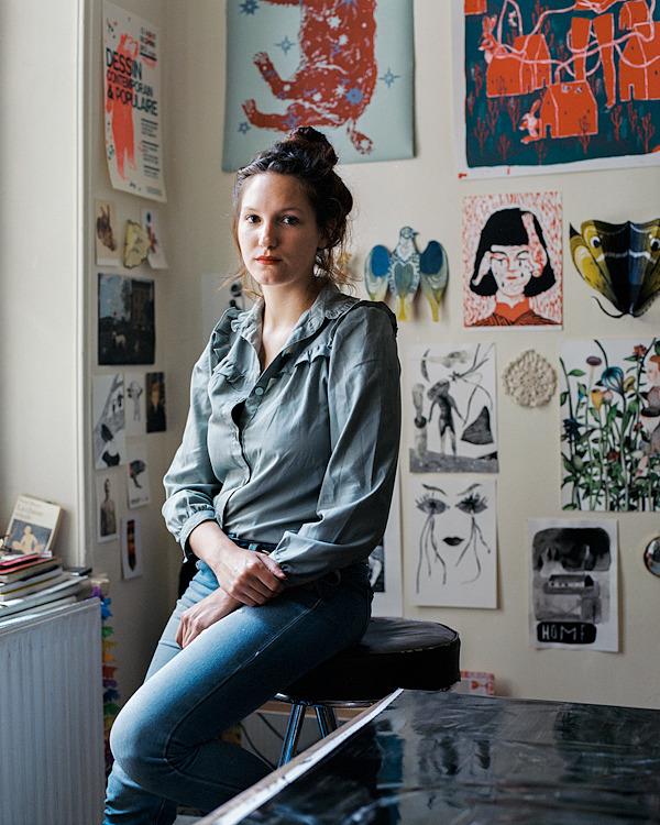 Sophie Lecuyer :: portrait