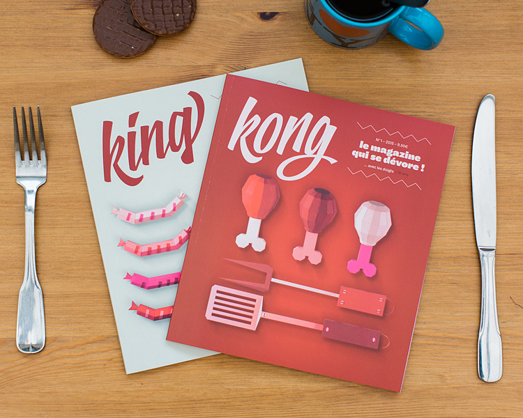 King & Kong :: commande illustration
