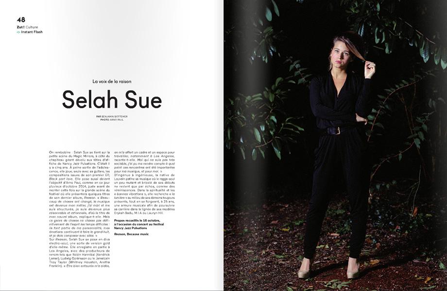 Selah Sue :: portrait