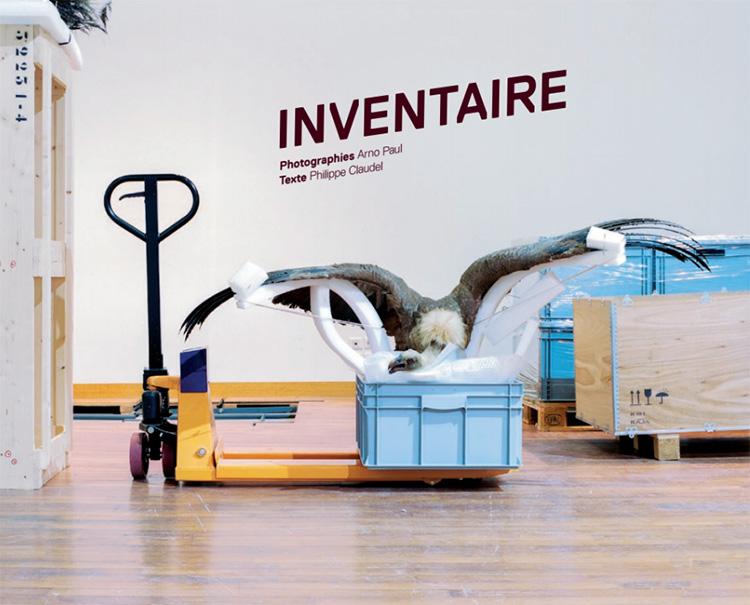 """Livre """"Inventaire"""" – Arno Paul et Philippe Claudel"""