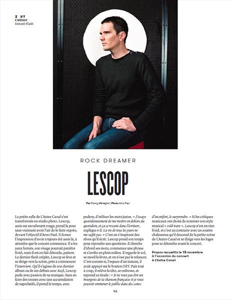 Lescop :: portrait