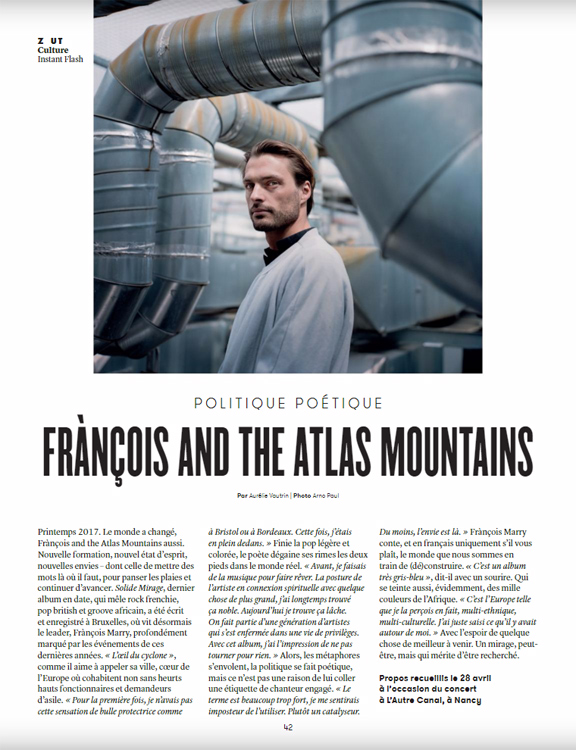 Frànçois and The Atlas Mountains :: portrait