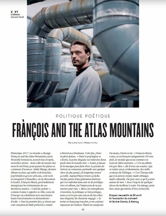 Frànçois and The Atlas Mountains :: portrait