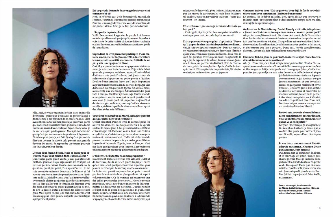 Leïla Slimani :: portrait