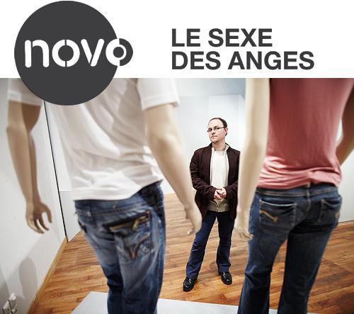 """Portrait : Hervé Marchal – """"Le sexe des anges"""" – Novo #2"""