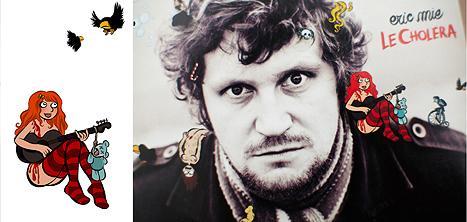 Nouvel album d'Eric Mie : dessins Laurel et photos Arno Paul