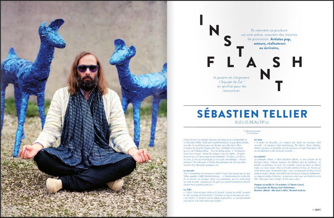 Sébastien Tellier :: portrait presse