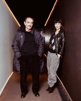 Richard & Romane Bohringer par Arno Paul