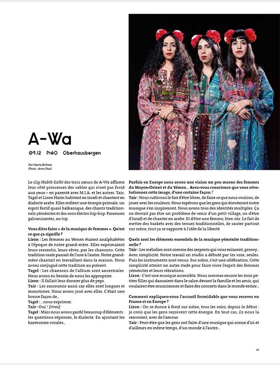 A-WA :: portrait