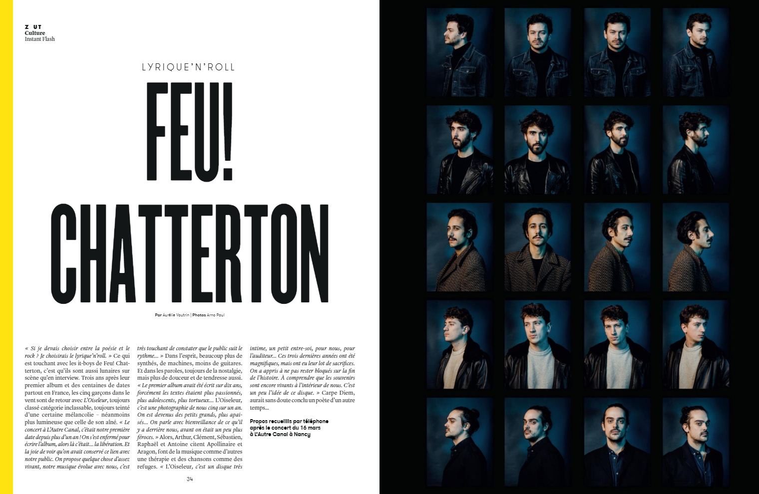 Feu! Chatterton :: portrait