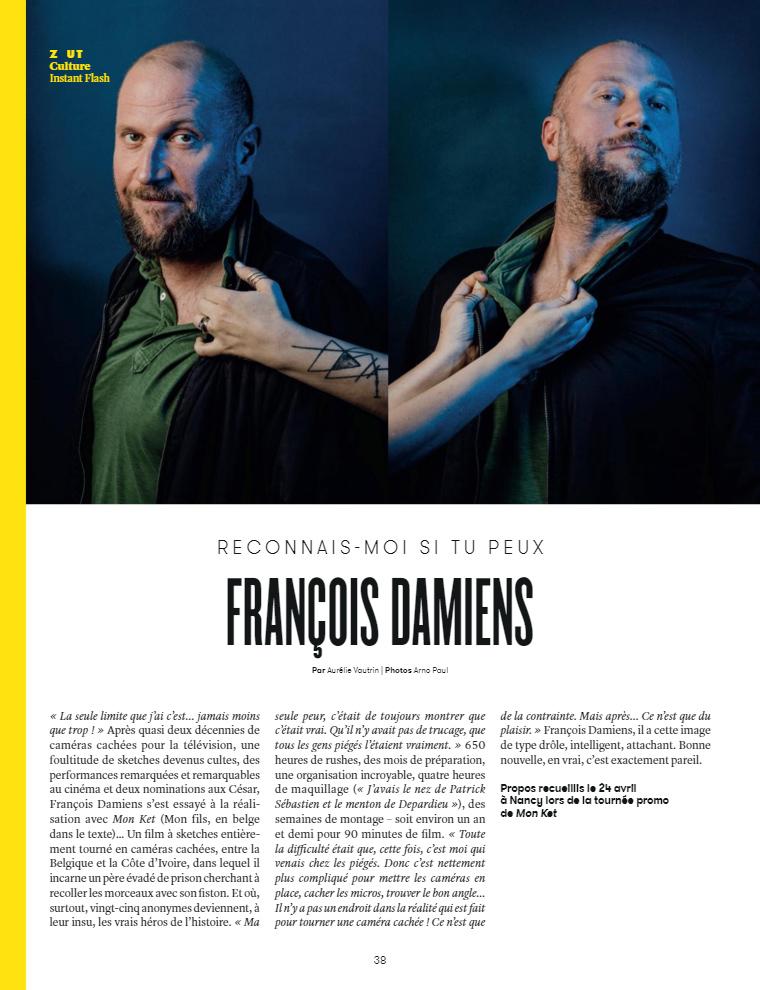François Damiens :: portrait